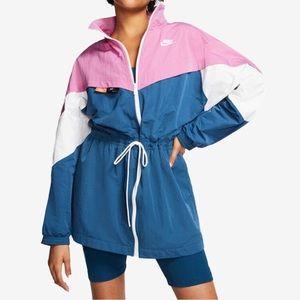 NEW Nike Icon Clash Windbreaker Tri-Color Jacket L